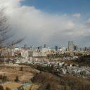 x-t3レビュー画質の評価青葉城址公園からの仙台市内一望写真